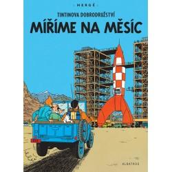 Tintin (16) - Míříme na Měsíc