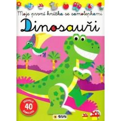 Dinosauři - Moje první knížka se samolepkami