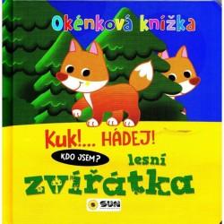 Okénková knížka - Lesní zvířátka