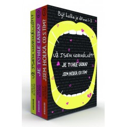 Být holka je dřina (Box 3 knihy)