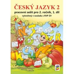 Český jazyk 2 1. díl (barevný pracovní sešit)