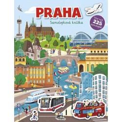 Praha - Samolepková knížka