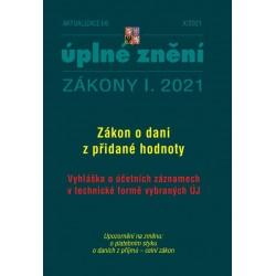 Aktualizace I/6 2021 Daň z přidané hodnoty