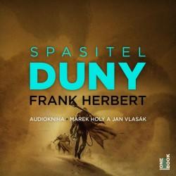 Spasitel Duny - CDmp3 (Čte Marek Holý a Jan Vlasák)