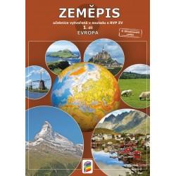Zeměpis 8, 1. díl - Evropa - Učebnice