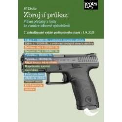 Zbrojní průkaz - 7. aktualizované vydání k 1. 9. 2021
