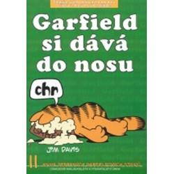 Garfield si dává do nosu (č.11)